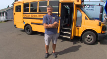 Hero Driver Rescues Kids From Burning Bus