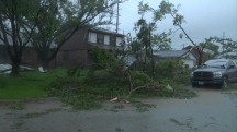 Severe Storms Cause Damage Across Central Texas