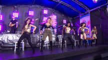 Fifth Harmony perform 'Boss' on the TODAY plaza