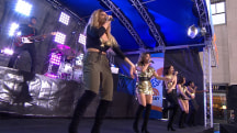Fifth Harmony perform 'Worth It' on the TODAY plaza