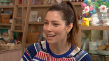 Jessica Biel on motherhood and giving back