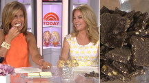 Sweet! KLG, Hoda try white chocolate Twix, 24K gold lollipops