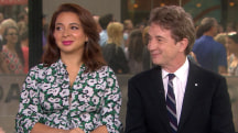 Maya Rudolph and Martin Short talk about 'Maya & Marty'