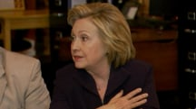 Hillary Clinton apologizes to former coal worker in candid moment