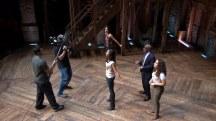 Watch Al Roker rehearse with the cast of 'Hamilton'