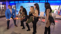 Watch Fifth Harmony teach John Cena how to booty-pop