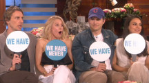 Watch Mila Kunis, Kristen Bell play 'Never Have I Ever' with their hubbies