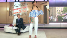 Haute or not? Willie Geist judges Tamron Hall's summer fashions