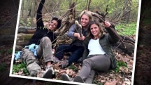 Natalie, Dylan, Tamron try to survive in the wild (of Central Park)