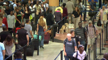 TSA lines move faster than expected as holiday weekend kicks off