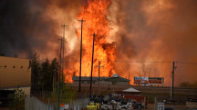 Wildfire Forces Mandatory Evacuation of Fort McMurray