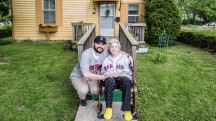 This man is fighting to keep a 104-year-old woman living in her home