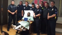 Graduate struck by car gets special diploma delivery