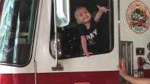 Brave boy battling cancer made honorary FDNY fireman