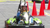 Watch Hoda, Natalie, Matt and Al race on the plaza - in go-karts!