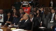 Protester: Jeh Johnson, You Have Blood on Your Hands