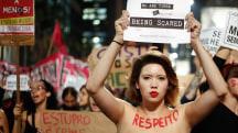 'End Brazilian Machismo' Demands After Alleged Gang Rape