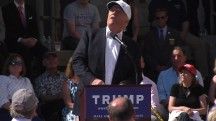 Trump jokes about 'Mexican plane' at rally