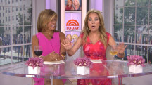 KLG to Hoda: Your music would make me drive off the road!