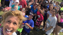 Hoda attends 5K for Tomorrows Children's Fund