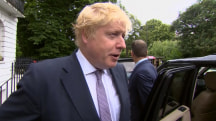 After Brexit, ex-London mayor Boris Johnson won't run