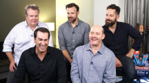 Paul Rudd, Jason Sudeikis fight cancer during 'Big Slick' weekend