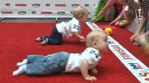 5-Yard Dash: Watch Lithuanian Baby Racing Contest