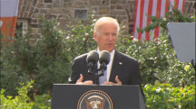 Joe Biden Warns of 'Demagogues Peddling Xenophobia'