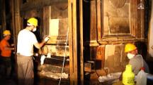 See the Vital Restoration Work Inside Jerusalem's Holy Sepulchre