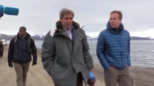 John Kerry in Svalbard to View Effects of Climate Change