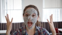 Test Drive: Watch the 'bubble' face mask in action