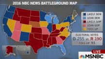 Clinton Trumps Trump in New NBC Battleground Map