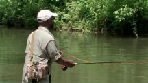 Wounded Veterans Find Peace Through the Serenity of Fly Fishing