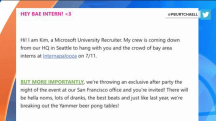 'Hey Bae Intern': Microsoft's slangy recruitment email fail