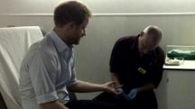 Prince Harry gets tested for HIV live on Facebook