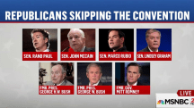 Top Republicans skipping convention