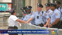Philadelphia Braces For Democratic National Convention With Heightened Security