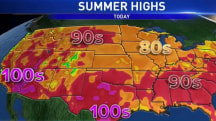 Scorching Heat Wave, Severe Weather Move Into Eastern U.S.