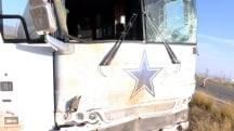 Dallas Cowboys Tour Bus Crash Kills Four