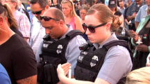Vigil Honors Fallen Police Captain