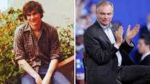 Does Tim Kaine look like Superman actor Henry Cavill?