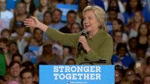 "Hillary Clinton Defends Cruz's ""Conscience"" Moment"