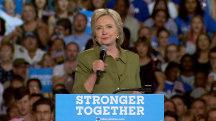 Clinton: Trump's RNC Speech was 'Dark and Divisive'