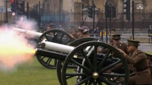 Gun Salute Commemorates Battle of the Somme