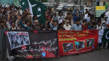 India and Pakistan Protest Kashmir's 'Black Day'