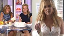Hoda agrees with Amy Schumer: Cake in your hands is good!
