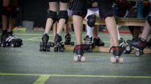 Girls build confidence, resilience in rough and tumble world of roller derby