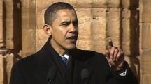 2007: Obama makes presidential bid official