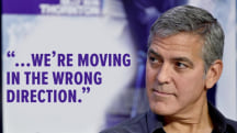George Clooney: Oscars 'moving in the wrong direction' with lack of diversity