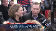 NBC News Projects John Kasich Will Finish Second in New Hampshire